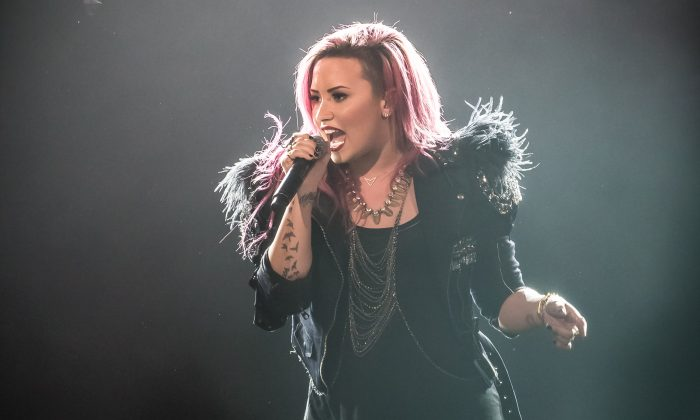 Demi Lovato, March 26, 2014 at the Air Canada Centre, Toronto. (DQC Photo)