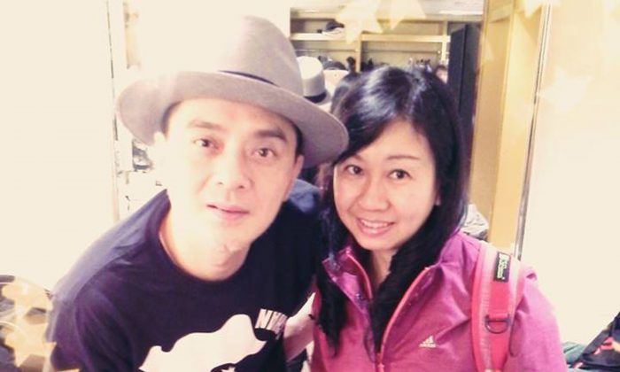 Hong Kong pop star Anthony Wong Yiu-ming thanked Alpais Lam Wai-sze and Jenny Ng Pui-ying, who are under suppression for speaking out in support of Hong Kong human rights. (Internet photo)
