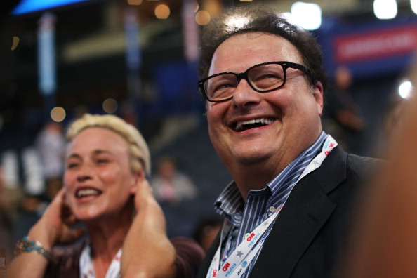Wayne Knight (R) is not dead. (Photo by Justin Sullivan/Getty Images)
