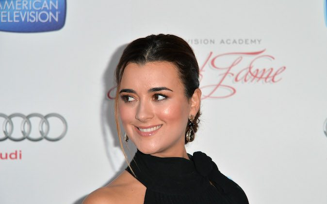 Actress Cote de Pablo attends the Academy of Television Arts & Sciences' 22nd Annual Hall of Fame Induction Gala at The Beverly Hilton Hotel on March 11, 2013 in Beverly Hills, California. (Photo by Alberto E. Rodriguez/Getty Images)