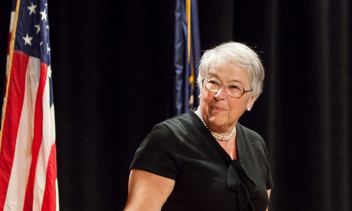 Carmen Fariña, Chancellor of the New York City Department of Education, Jan. 30, 2014. (Petr Svab/Epoch Times)