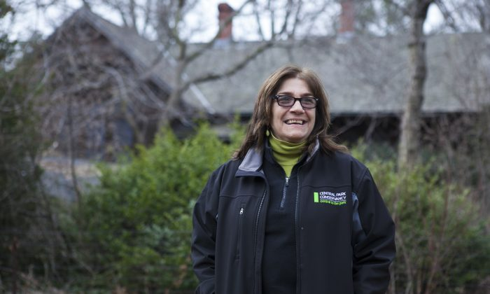 Maria Hernandez, the director of horticulture at Central Park Conservancy, at Central Park on March 19, 2014. (Samira Bouaou/Epoch Times)