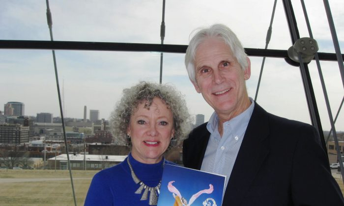 Jim and Yvonne Berard were delighted to experience traditional Chinese culture presented by Shen Yun Performing Arts at the Kauffman Center, on March 30. (Cat Rooney/Epoch Times)