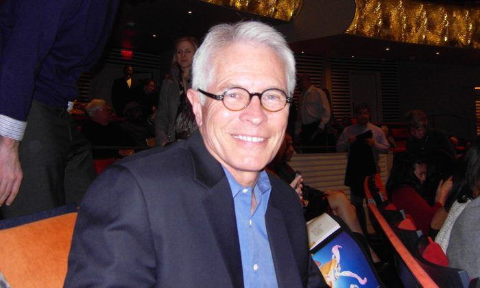 """Barry Grissom, U.S. attorney for the District of Kansas, took his wife to see Shen Yun for her birthday. """"I would say it's very exhilarating and very enlightening,"""" he said of the performance. (Xiao Ding/Epoch Times)"""