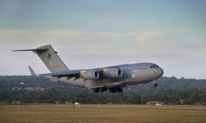 Aussie Aircraft Makes Beirut Aid Drop