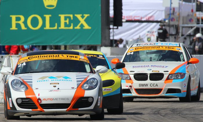 xciting affordable sports cars in close competition—this is the Continental Tires Sports Car Challenge, currently on tack at Sebring International Raceway. (Chris Jasurek/Epoch Times)