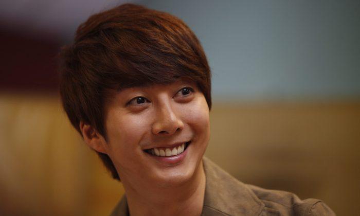 South Korea's entertainer Kim Hyung Jun. (AP Photo/Juan Karita)