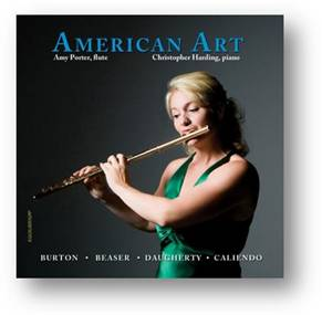 Flute player Amy Porter performs American music