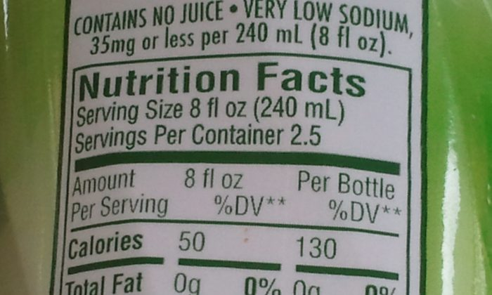 The new food labeling requirement seems at first glance to be a good idea, but is it really a disaster in the making? (photo by LivligaHome)
