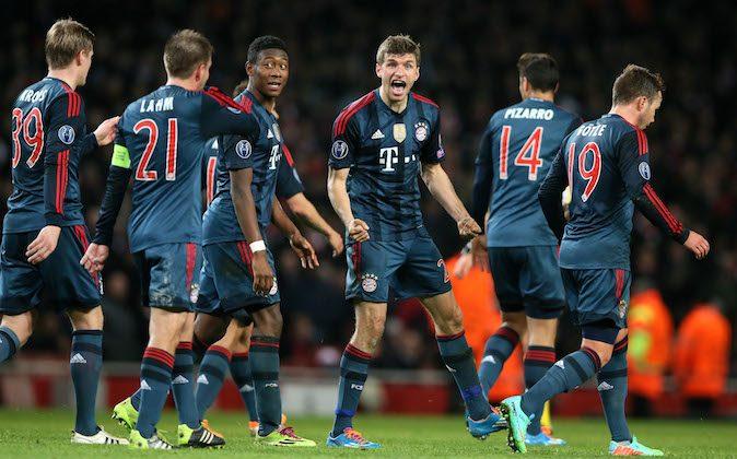 Bayern Munich Vs Arsenal Uefa Champions League Match Date