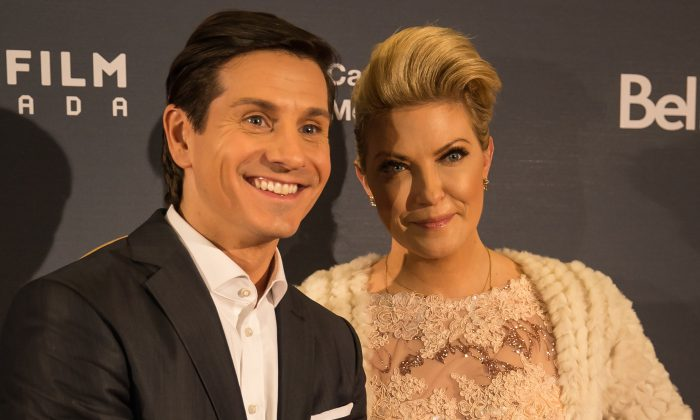 Cheryl Hickey and Rick Campanelli of ET Canada. (DQC Photo)