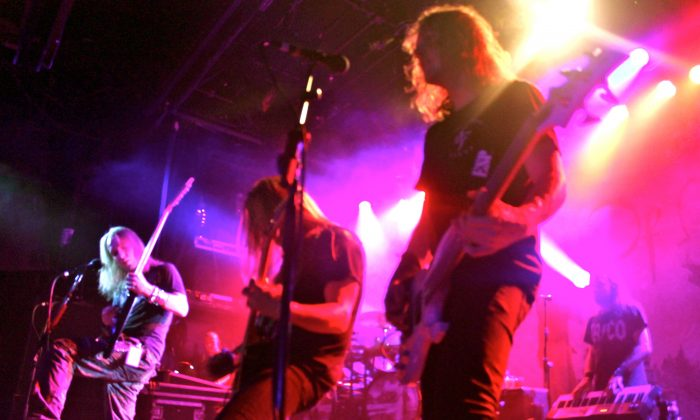 Children of Bodom Performing at Irving Plaza in NYC. Photo Credit: Bianca Silva