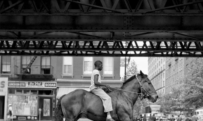 A photograph by Vivian Maier, a nanny and amateur photographer who is the subject of a documentary by John Maloof and Charlie Siskel. (IFC Films)
