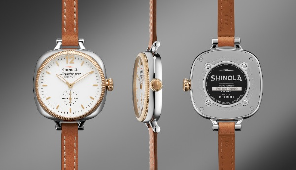 The Gomelsky, Women's Watch, Double Wrap Leather Strap, $545.00 (Courtesy of Shinola)