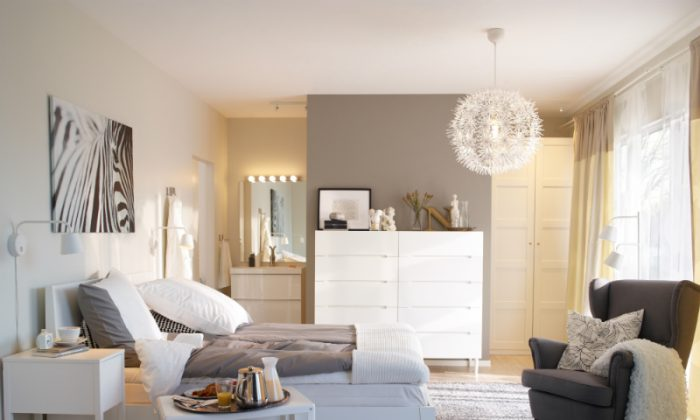 Choose storage-friendly furniture to make your rooms more functional.(Ikea)