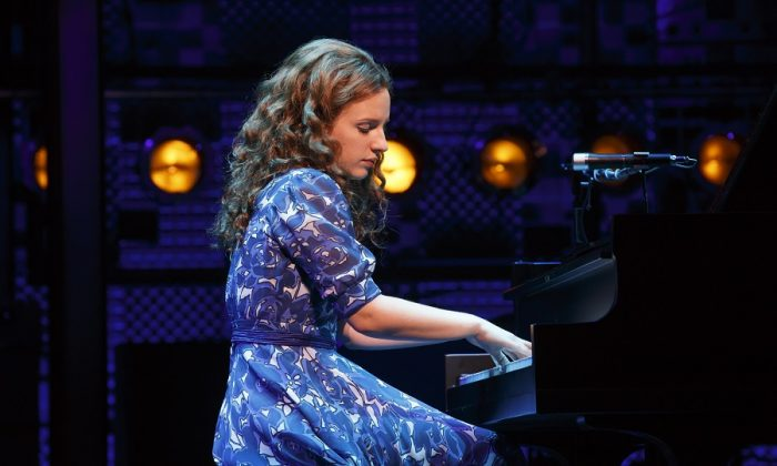 "Jessie Mueller Plays Carole King in ""Beautiful"" (photo by Joan Marcus)"
