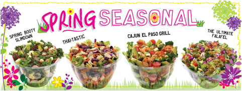 Just Salad opened a new location on the Upper East Side, March 26, 2014. (Courtesy of Just Salad)
