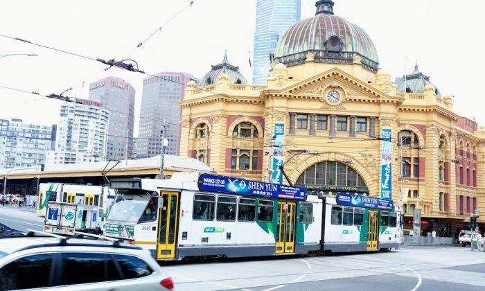 Flinders Street, Melbourne. (Epoch Times)