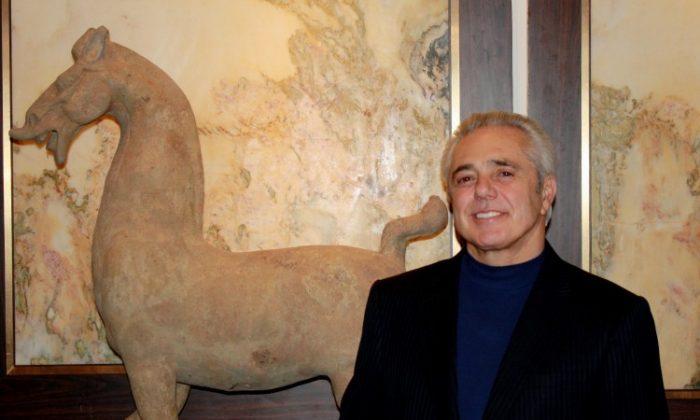 Michael C. Teller IV, founder and president of TK Asian Antiquities. (Courtesy of TK Asian)