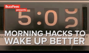 Morning Hacks to Wake Up Better (Video)