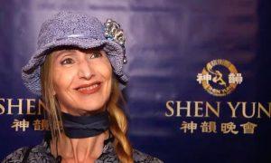 LAMA Award-Winning Cabaret Artist Says Shen Yun 'Music goes right to your heart'