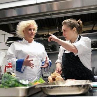 Chef Nicole Karr with Chef Anne Burrell (Chef Nicole Karr)