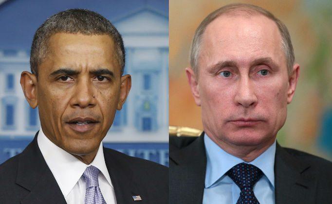 President Barack Obama (AP Photo/Charles Dharapak)Russian President Vladimir Putin (AP Photo/RIA Novosti, Mikhail Metzel, Presidential Press Service)