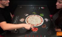 Interactive Touchscreen Table Menu Now at Pizza Hut
