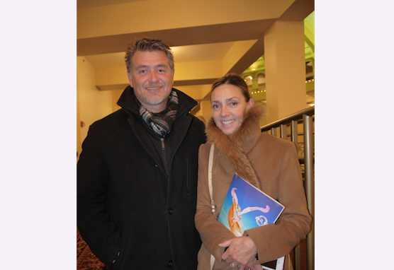 Peter Oklobdzija and Tracy Ford enjoyed Shen Yun Performing Arts at the Milwaukee Theatre, on March 5. (Catherine Wen/Epoch Times)