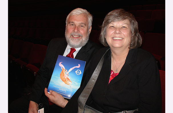 Wayne and Elizabeth Maeser enjoyed the spiritual messages of Shen Yun Performing Arts at The Kentucky Center for the Performing Arts, Whitney Hall . (Ying Wan/Epoch Times)