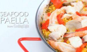 How to Make Spanish Seafood Paella