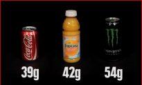 The Crazy Amount of Sugar Hiding in Random Foods (Video)