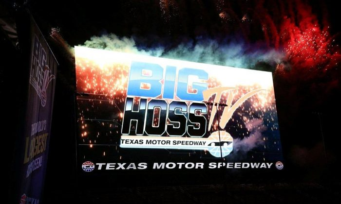 The Big Hoss TV is 218 feet by 94.6 feet. (Courtesy of Durhl Caussey)