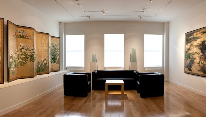 Panoramic view of Erik Thomsen Gallery in Manhattan. (Courtesy of Erik Thomsen)