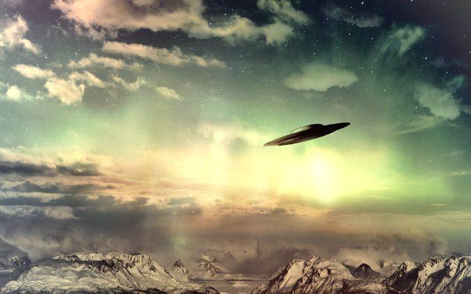 An illustration of an unidentified flying object (UFO). (Shutterstock*)