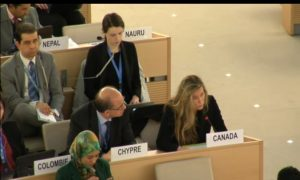 Canada Raises Organ Harvesting at UN