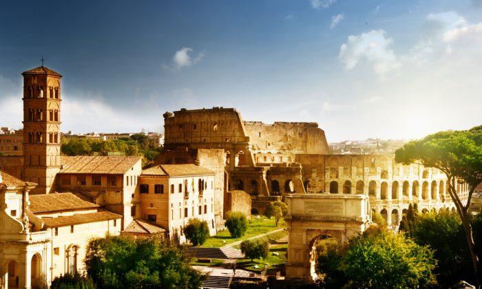 Colosseum in Rome, Italy. (*Shutterstock)