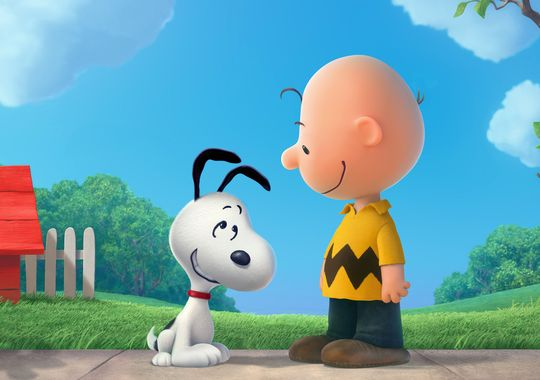 Charlie Brown and Snoopy return to the silver screen in 'Peanuts.' (Blue Sky Studios)