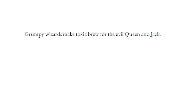 This is the Garamond font. (Screenshot/Google)
