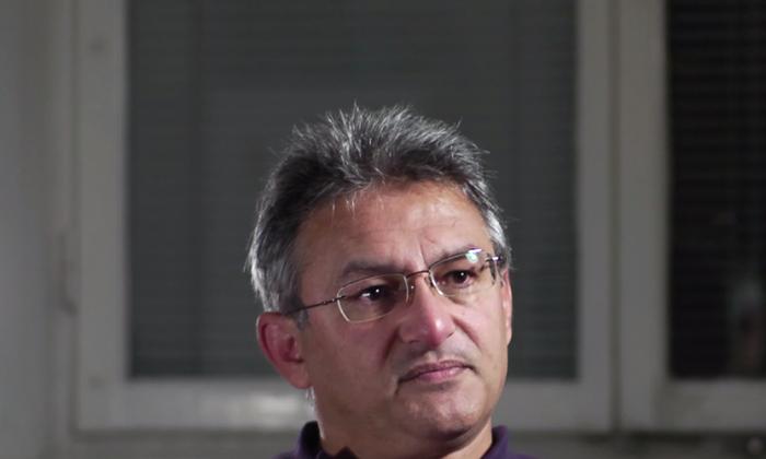 George Karimi in Stockholm, Sweden, in October 2011. (Tobias Elvhage/Fenix Film)