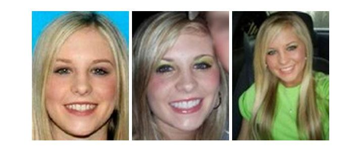 File photos from the FBI showing Holly Bobo.