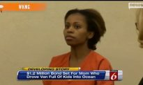 Bail for Mom Accused of Driving Kids Into Ocean Set at $1.2M