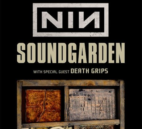 Nine Inch Nails and Soundgarden Promotional Tour Pic