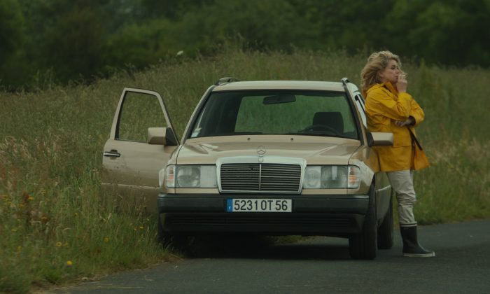 "Catherine Deneuve as a drifting older woman in ""On My Way."" (Cohen Media Group)"