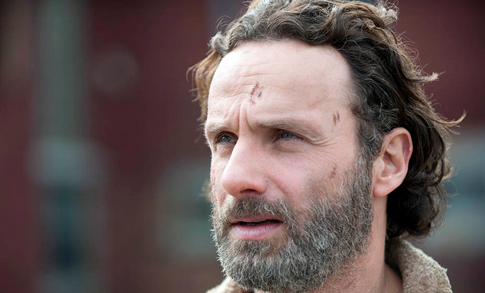 Rick in The Walking Dead season 4 finale. (Gene Page/AMC)