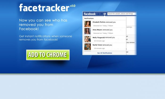 Facetracker and FB-Remove are both scams.