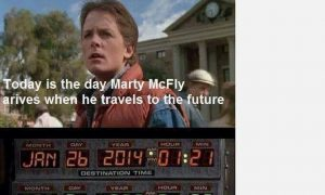 HUVr Board Hoax and 'Today is the day Marty McFly Arrives' Are Fake; 'Back to the Future' Pranks Spreading