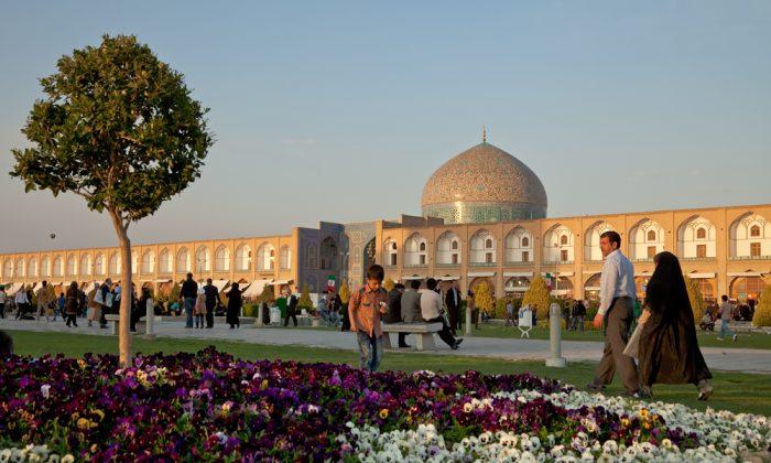Naqsh-e-Jahan in Isfahan, Iran