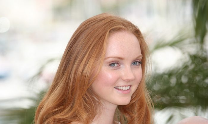 Lily Cole, model and founder of a social media network that allows people to help each other. (Shutterstock*)