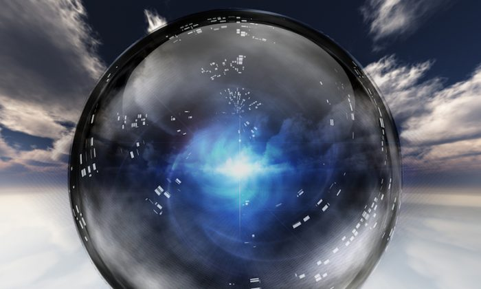 A file photo of a crystal ball. (Shutterstock*)